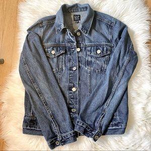 Women's GAP Denim Jacket Medium Wash Size Small